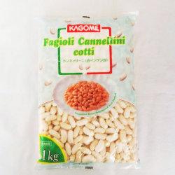 冷凍野菜!カゴメ) カンネッリーニ(白インゲン豆) 1kg